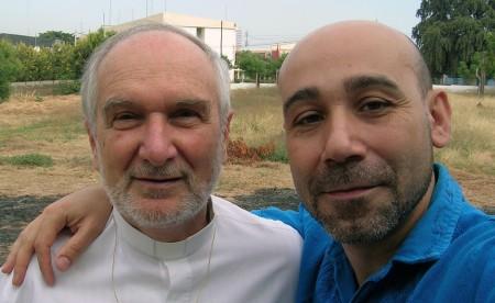 Padre Sandro y un servidor