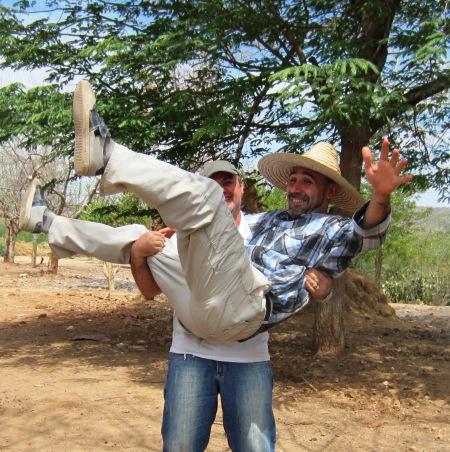 Manteando a Sancho Panza